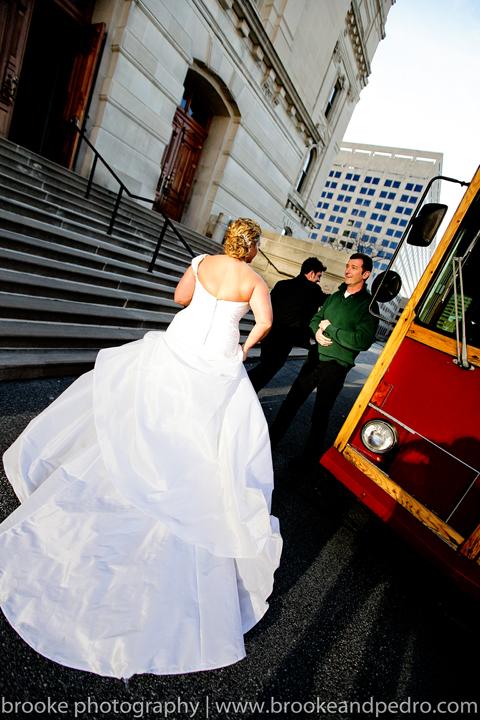 Trolley for wedding