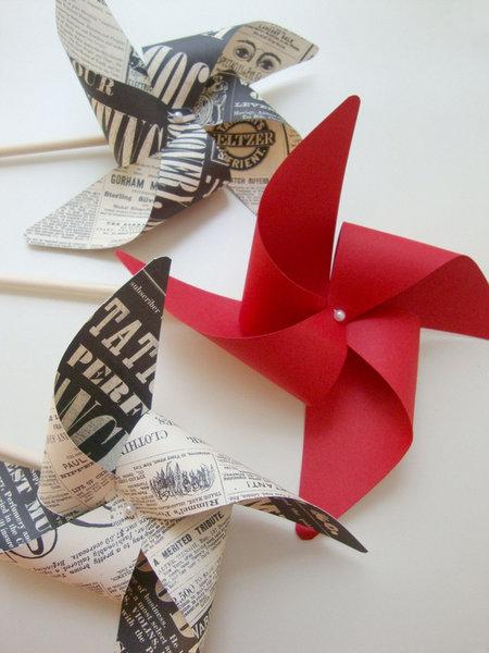 PaperPolaroidpinwheels
