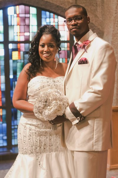Real Wedding ~ Absence makes the Heart grow Fonder {Click to see full Real Wedding}