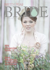 pretty pear bride spring issue 2013, plus size bride,