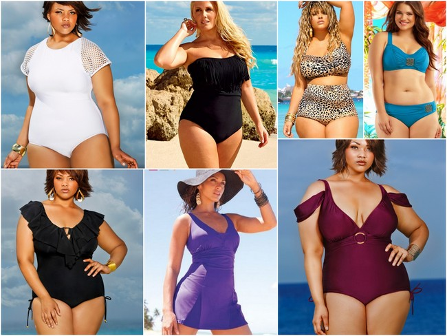 plus size brides, plus size swimwear