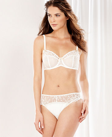 Felina Bra and Bikini, Helena Unlined Full Busted Bra; Macy's, ON SALE for $21.93
