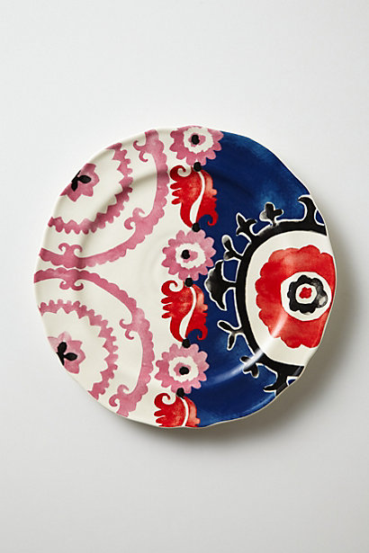 Evita Dessert Plate; Anthropologie, $12 each