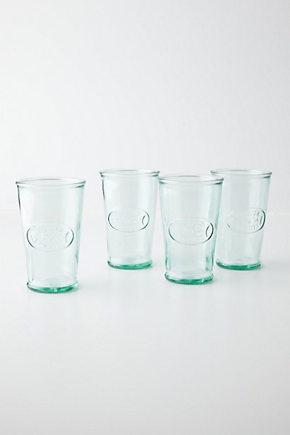 Jus De Fruit Glasses; Anthropologie, $24 for set of four