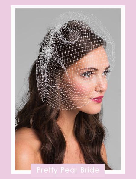French Net Birdcage Veil; Nordstrom, $95
