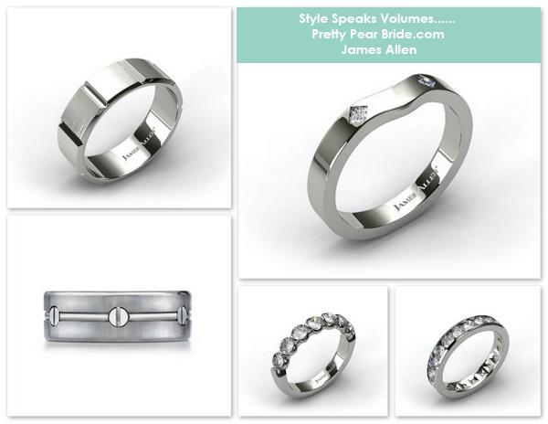 wedding rings, james allen
