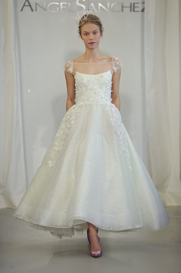 Angel Sanchez Spring 2014 Wedding Collection