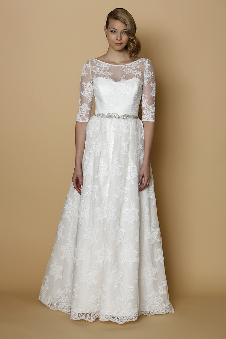 Spring 2014 Sleeved Gown by Alyne
