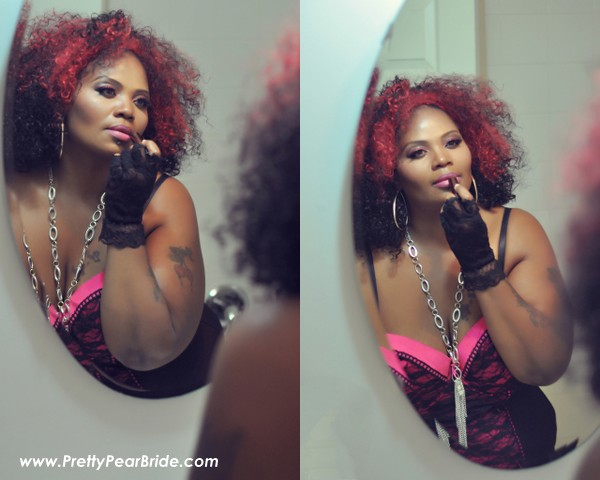 plus size boudoir shoot
