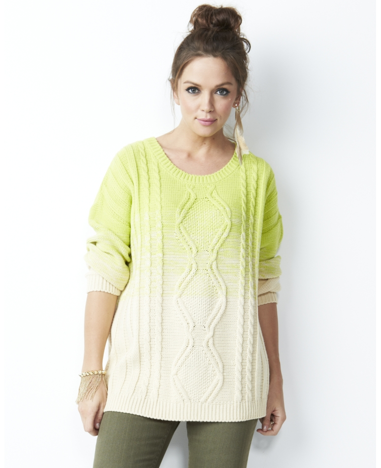 Ombre Sweater; Simply Be, was $75, now ON SALE for $37.50