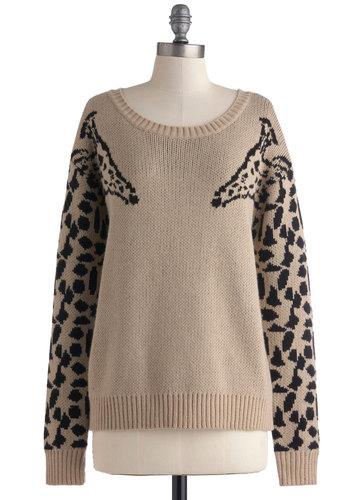 Eye to Eye-Catching Sweater; ModCloth, $49.99<a