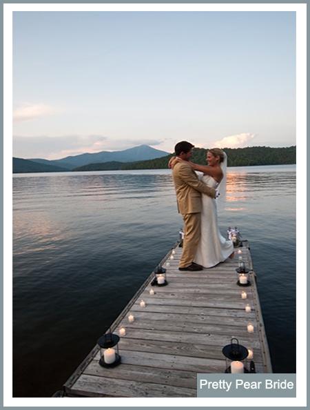 Things I Love Thursday Boat Dock Weddings The Pretty Pear Bride Plus Size Bridal Magazine