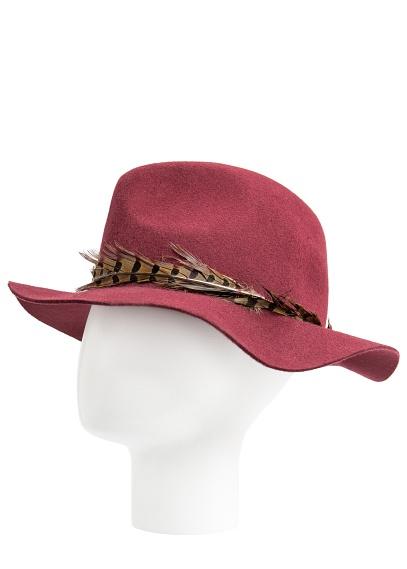 Fantasy Felt Fedora Hat; Mango.com, $49.99