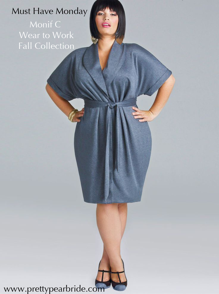 plus size bride, monif c wear to work