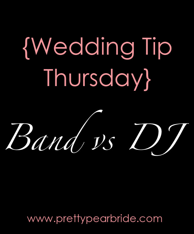 band vs dj, plus size bride