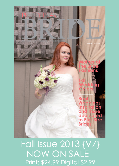 plus size bridal magazine
