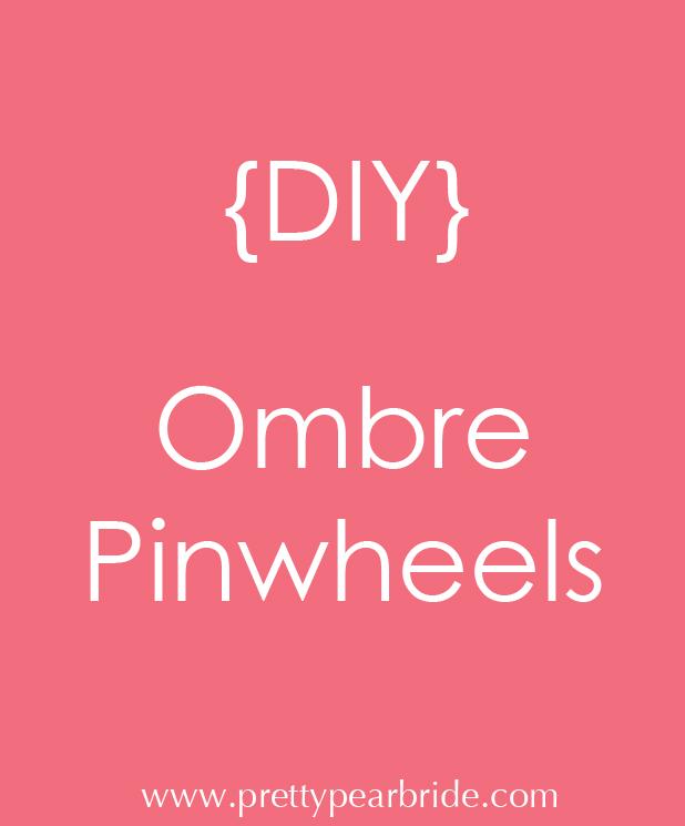 plus size bride, diy pinwheels