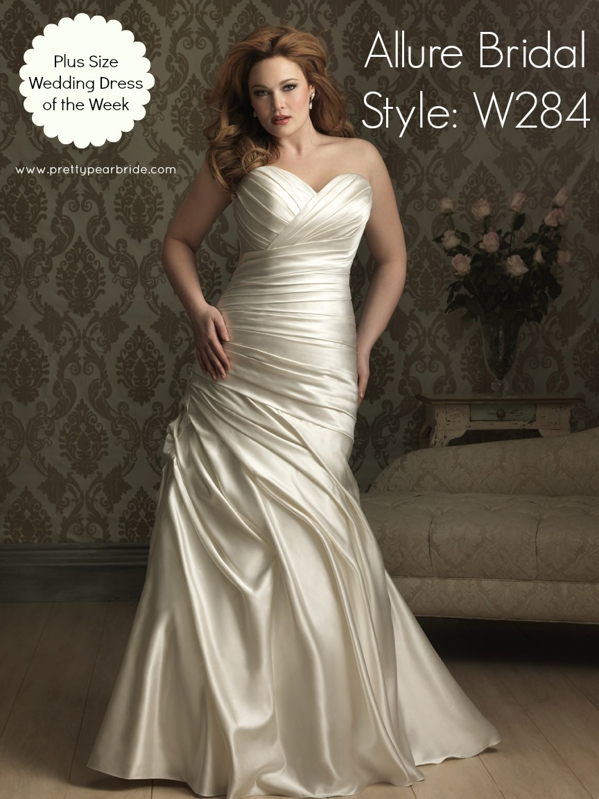 plus size bridal, allure