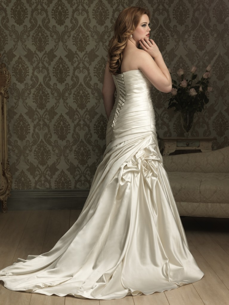 plus size bridal, allure