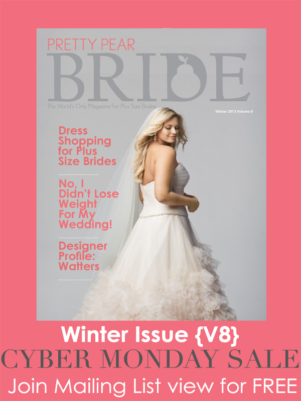 cyber monday sale, pretty pear bride magazine