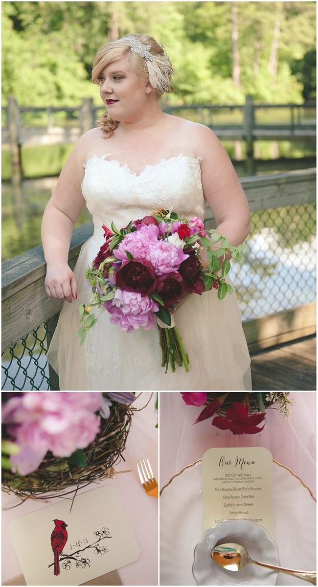 plus size bridal styled shoots