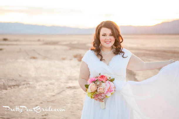 {Real Plus Size Wedding} Desert Love By Casey Hendrickson