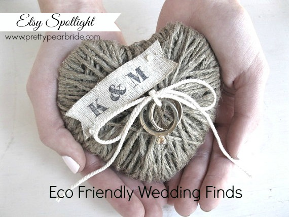 eco friendly wedding finds