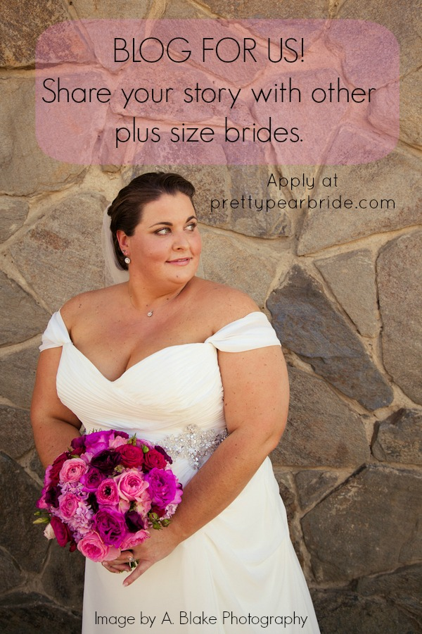 plus size brides, guest blogger
