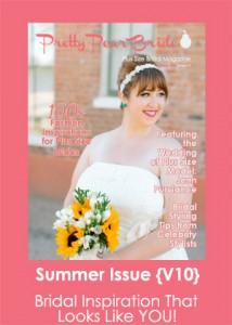 plus size bride, pretty pear bride magazine, bridal magazine