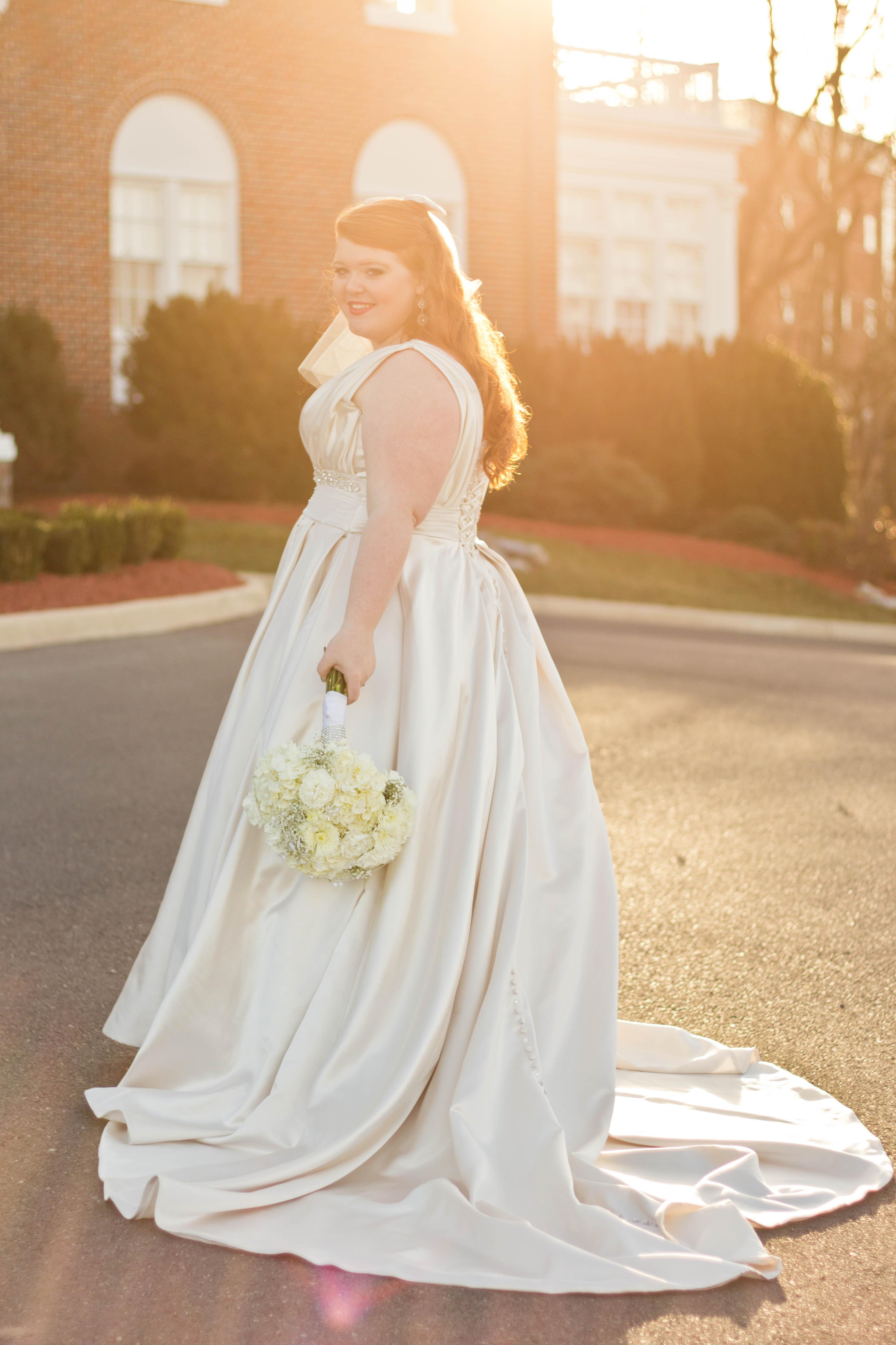 pretty pear bride, plus size bride, bridal magazine