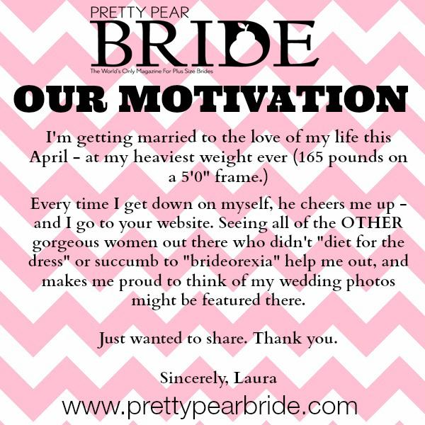 plus size brides, motivation monday, inspiration