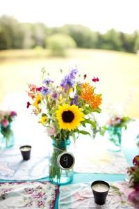 wildflower centerpiece 2