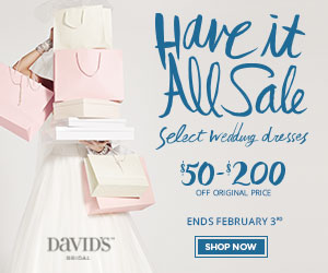 plus size bridal, have it all sale, discounted plus size wedding gowns