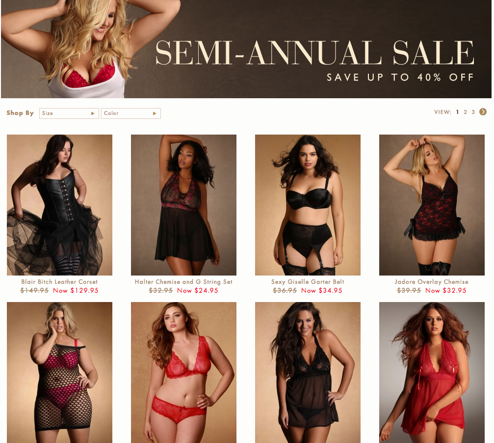 plus size lingerie, hips and curves