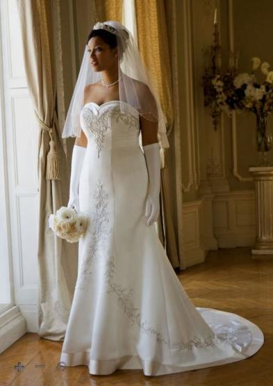 plus size bridal
