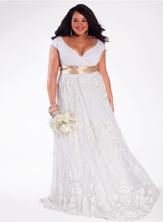 plus size bridal, plus size wedding gown, igigi