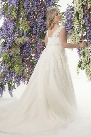 plus size bridal, callista bridal