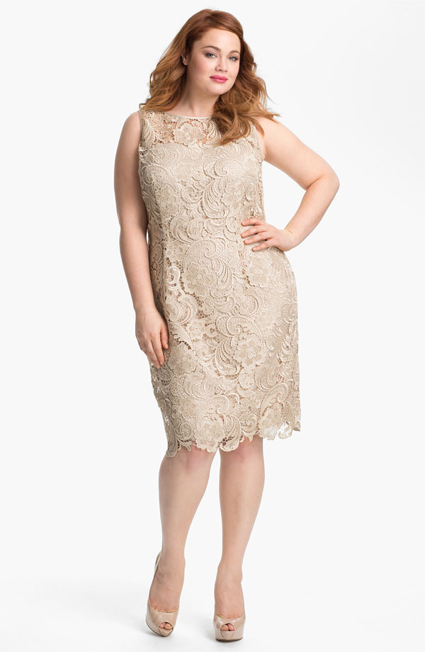 plus size bridesmaid, plus size dress