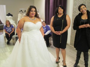 plus size brides, plus size bridal gowns,