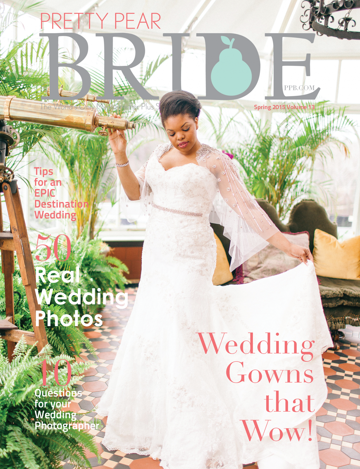 Pretty Pear Bride Magazine Spring Issue 2015