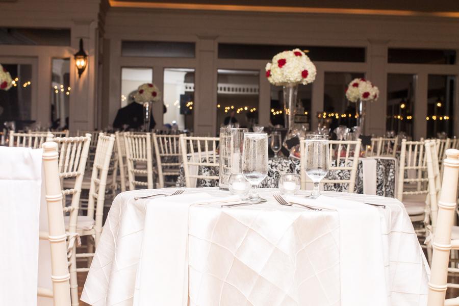wedding decor, old hollywood glam wedding