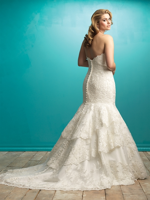 Allure bridal, plus size bridal