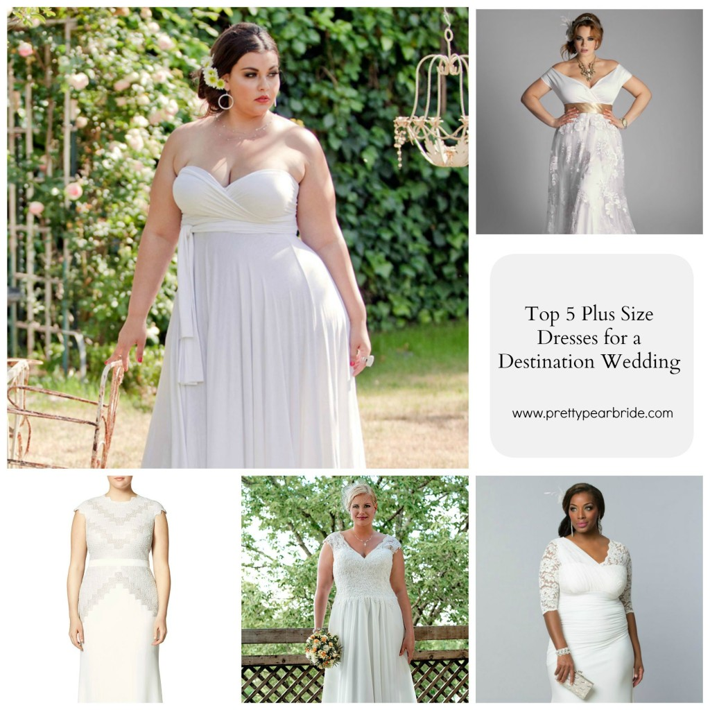 plus size bride, destination wedding