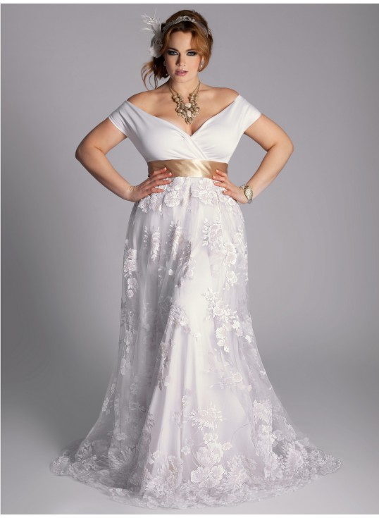 plus size wedding gown, summer wedding gowns