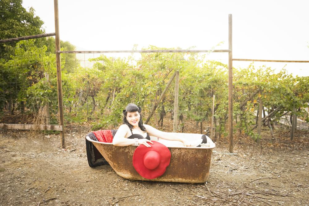 Liz Vintage Inspired Bay Area Boudoir 30