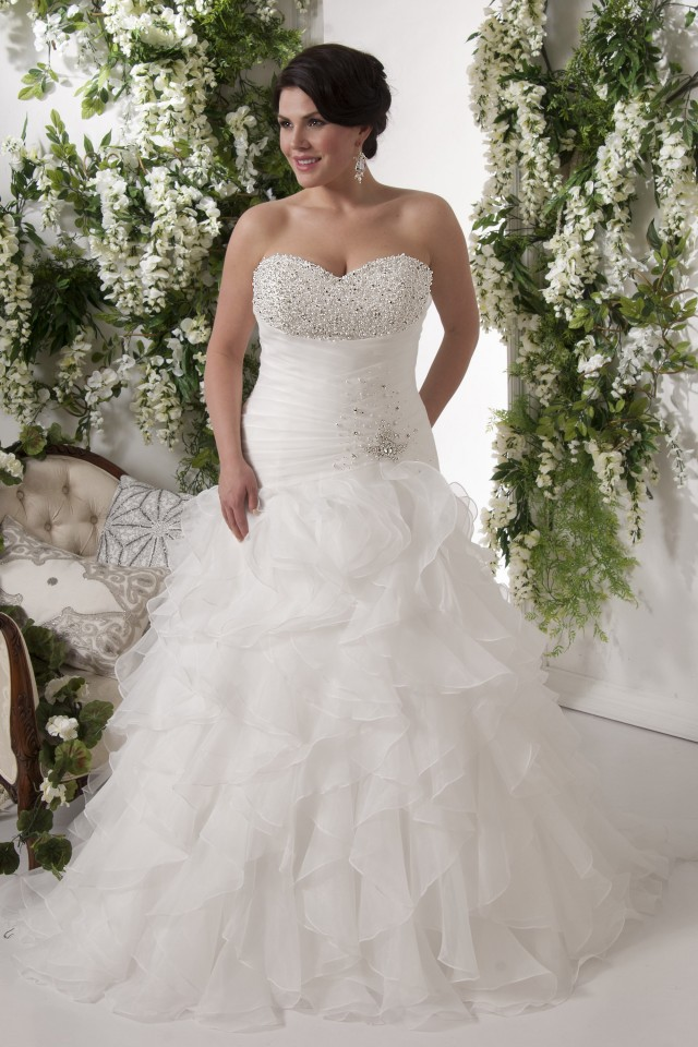 Callista Bridal, plus size bridal gowns,