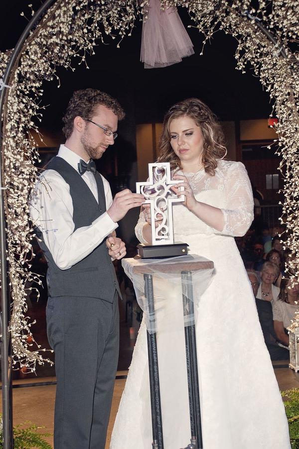 amazing wedding ceremony setup