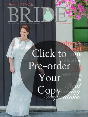 Pretty Pear Bride Fall Issue {V15} Plus Size Bridal Magazine