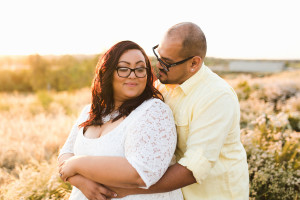 Field of Love featuring an amazing curvy couple