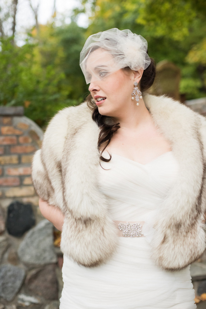{Real Plus Size Wedding} Garden Wedding with a Brunch Reception | Umbrella Studios